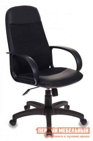 Офисное кресло  CH-808AXSN Сетка черная / Искусственная кожа Бюрократ. Цвет: черный