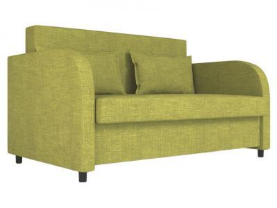 Прямой диван  Алекс Фисташковый, рогожка Столлайн. Цвет: зеленый