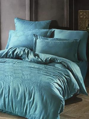 Комплекты постельного белья Saheser. Цвет: голубой