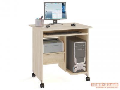 Компьютерный стол  КСТ-10.1 Дуб Сонома Сокол. Цвет: светлое дерево