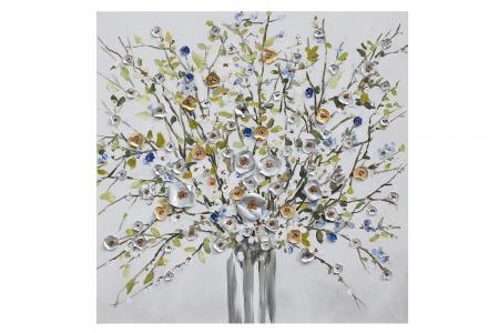 Репродукция Цветы в вазе Hoff