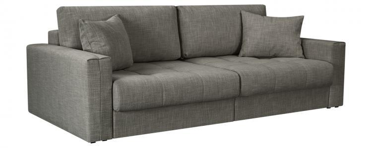 Модульный диван Брайтон вариант №1 Nobilia серый (Рогожка) HomeMe. Цвет: серый