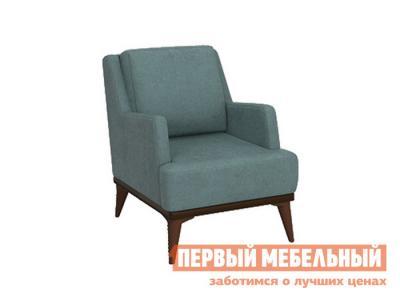 Кресло  Концепт Бирюзовый, рогожка НижегородмебельИК. Цвет: серый