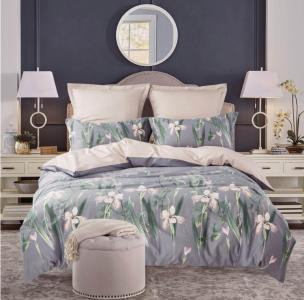 Комплекты постельного белья СайлиД. Цвет: кремовый