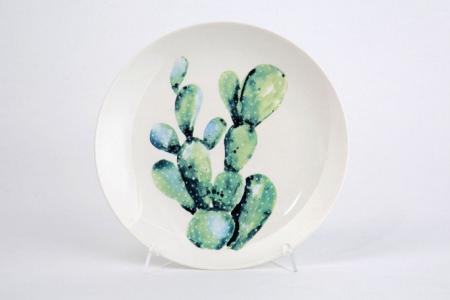 Тарелка 20,5 см Q75100930 Hoff. Цвет: в ассортименте